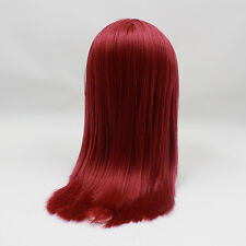 Blythe Doll RBL Scalp & Dome Red Japan's Hair With Bangs R038