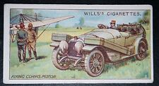 French Flying Corps    Mechanical Support Car   World War 1  Vintage 1916 Card