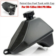 ATV Petrol Gas Fuel Tank with Cap Universal for 50cc-125cc Dirt Pit Bike Plastic