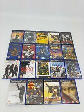 19 x PS2 Sony Playstation 2 Game Bundle Computer Joblot Kessen 007 Jak Scarface