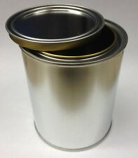 1 Empty Pint Steel Paint Can Round w/Lid Paints coatings adhesives Craft Project