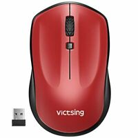 VicTsing 2.4G Wireless Mouse for Laptop Computer Cordless Mouse w/Nano Receiver