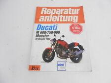 Ducati Monster Vergaser-Modell Werkstatthandbuch Handbuch Teileliste etc.