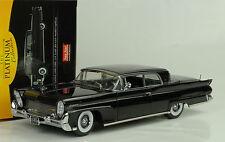 1958 Lincoln Continental Mark III hard top Black negro 1:18 Sun Star Platinium