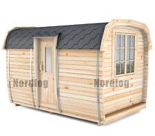 NordLog CAMPING BUS 2,3 x 3,5 m Campinghaus Gartenhaus Wochenendhaus Ferienhaus