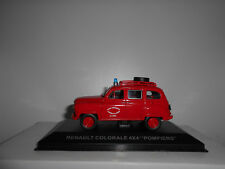 RENAULT COLORALE 4X4 POMPIERS GIFT ALTAYA IXO 1:43