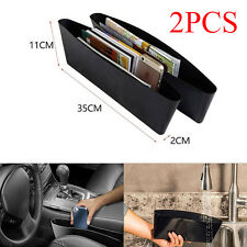 2× Catch Catcher Caddy Box Car Seat Gap Slit Organizer Holder Pocket Storage 2pc