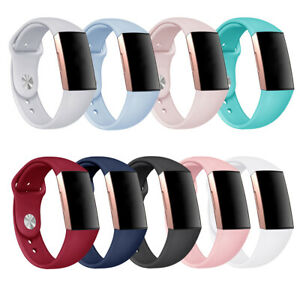 For Fitbit Charge 3 4 Watch Replacement Band Silicone Bracelet Wrist Watch Strap