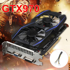 GTX970 4GB DDR5 128Bit Gaming Graphics Card PCI-Express GPU For NVIDIA GeForce