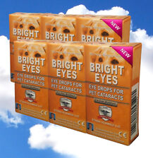 Ethos Bright Eyes Eye Drops for Dogs Six Boxes 60 ml