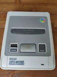 Console super nintendo SNES box
