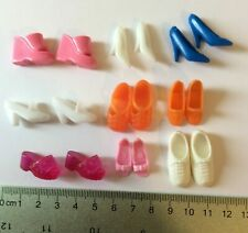 Nine Pairs of Shoes for fashion doll - doll clothes accessories