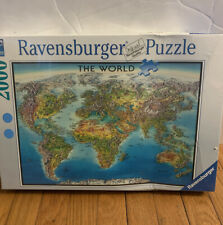 Ravensburger THE WORLD Puzzle, 2000 pieces,SEALED New