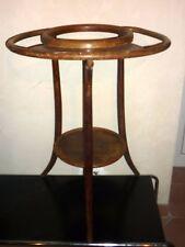 Barbière table de toilette bois courbe époque Thonet - Kohn, Fiume, Fischel