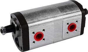 Hydraulikpumpe Doppelpumpe passend für Fendt, Deutz & Case ähnlich 0510665382