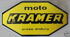 adesivo originale dell' epoca MOTO KRAMER