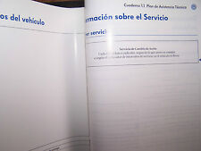 2005 vw bora owners manual parts service spanish 2004 2006 original new