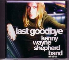 KENNY WAYNE SHEPHERD Last Goodbye PROMO DJ CD Single 99