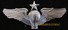SENIOR BALLOON PILOT WING LARGE XL HAT PIN AFB US ARMY AIR CORPS AIR FORCE GIFT