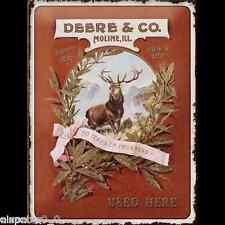 Blechschild 30 x 40, John Deere & Co., Werbeschild Art. 23168
