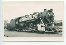 C101 RP 1938 ALTON & SOUTHERN RAILROAD TRAIN ENGINE #14 EAST ST LOUIS IL