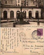 Rossano Calabro, piazza D. Labonia, viaggiata