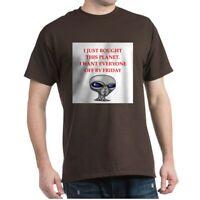 CafePress Alien Invasion T Shirt 100% Cotton T-Shirt (1676855762)