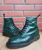 Dr Martens England 1460 Boots 7 UK 9 US Vintage 8 eye ankle boots Green Polish