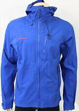 EUC Mammut Drytech Premium Hardshell Jacket, Blue, Sz M