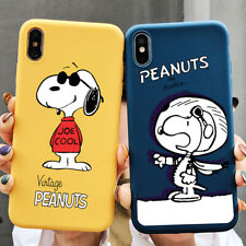 Snoopy PEANUTS Cartoon Liquid Scrub Shockproof Soft Phone Case For iPhone 11 Pro