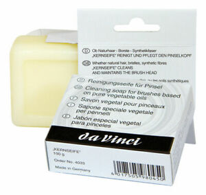 Da Vinci : Professional Artists Brush Soap : 100g bar of soap in a cardboard box