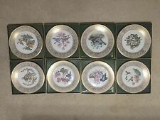 Set of 8 Lenox Edward Marshall Limited Edition Boehm Birds Collector Plate