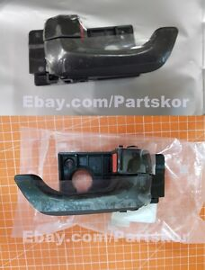 Fit 2006 ~ 2010 KIA OPTIMA LH and RH Side Inside Door Handle 82620 Genuine Part