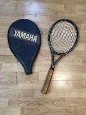 Vintage Yamaha Silver 100 Tennis Raquet/Racket