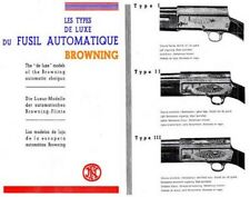 Browning 1925 FN Shotguns Catalog (French)