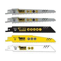 5 SabreCut Mixed Reciprocating Saw Blades For Bosch Keo Dewalt Makita Milwaukee