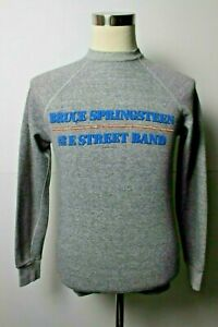 Vintage 80s Bruce Springsteen Born in the USA 1984 Band Tour Promo Sweatshirt M