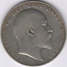 More details for 1909 edward vii silver half crown | british coins | pennies2pounds