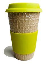 SCM  Designs Silicone Lid Travel Mug 16 Oz Ceramic Cup