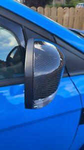 Ford Focus MK3.5 RS Carbon Fibre Wing Mirror Caps (genuine Carbon)