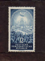 ALEMANIA/RDA EAST GERMANY 1954  MNG SC.206 Four Power Conference