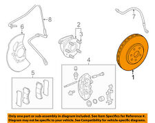 GM OEM-Disc Brake Rotor 20795300