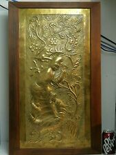 More details for ksia keswick school industrial arts fire screen george & dragon very rare   s