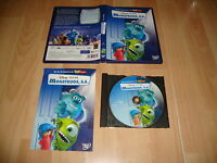 MONSTRUOS S.A. DE WALT DISNEY - PIXAR EN DVD ZONA 2 USADO COMPLETO
