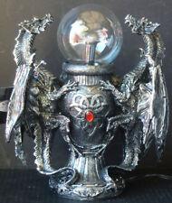 "SAURIAN GAZING BALL Dragon  Electric TESLA PLASMA BALL Lamp  Statue H12'' x L10"""