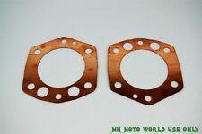 CJ750-Cylinder head copper Gaskets (pair) 32P M1S OHV