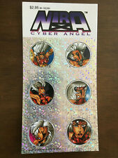 NIRA CYBER ANGEL POGS 1995 BILL MAUS (BAD GOOD GIRL)
