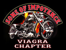 SONS OF IMPOTENCE DECAL SIZE 100MM BY75MM GLOSS LAMINATED VIAGRA CHAPTER
