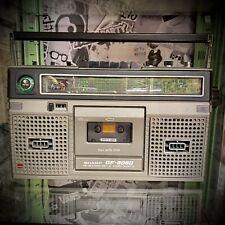 vintage Sharp GF8080 radio cassette player working order with power lead Retro