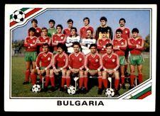 Panini Mexico 86 - Team Bulgaria Bulgaria No. 55